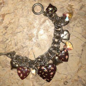Betsy Johnson Locket Bracelet